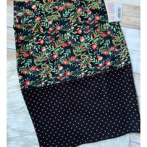 Lularoe Floral Cassie Skirt